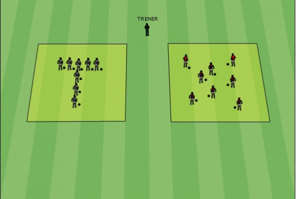 U-6-Te-kontrola prowadzenia piłki