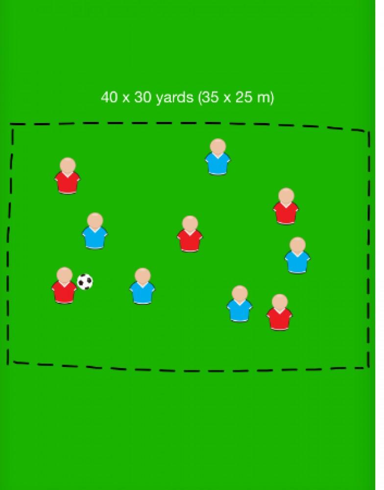 Gra na utrzymanie piłki